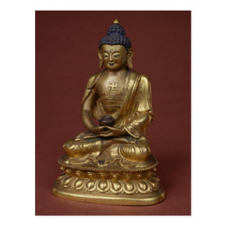 Buddha Amitayus seated in meditation Postcard