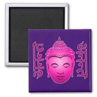 Buddha Ananta Sanskrit Fridge Magnet