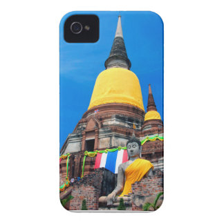 Buddha and Pagoda Case-Mate iPhone 4 Case