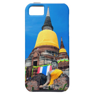 Buddha and Pagoda iPhone SE/5/5s Case