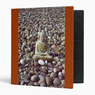 Buddha and Pebbles Binder
