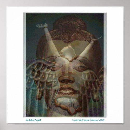 Buddha Angel print