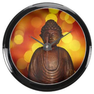 Buddha Aquarium Clocks