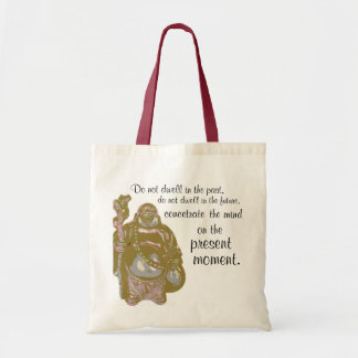 buddha as well tote bag