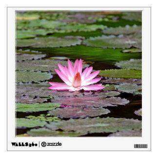 Buddha Asia Lotus Flower Wall Sticker