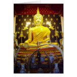 Buddha at Wat Yai-Blank Card