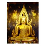 Buddha at Wat Yai Postcard