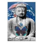 Buddha Awaits Greeting Card