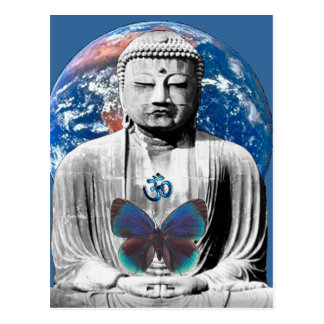 Buddha Awaits Postcard