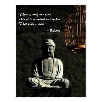 Buddha awaken postcard