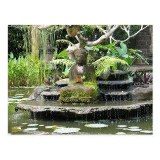 Buddha Bali Indonesia Postcard