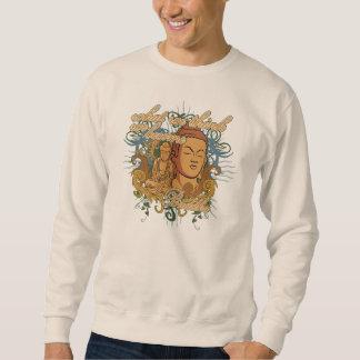 Buddha Become Quote Sweatshirt