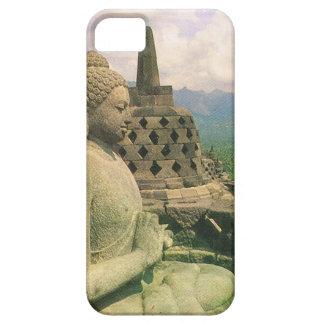Buddha bell statue, Borobodur temple, Java iPhone 5 Case
