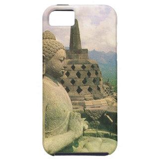 Buddha bell statue, Borobodur temple, Java iPhone 5 Cases