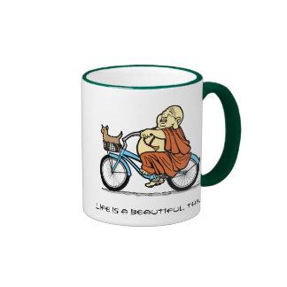 Buddha Bike Mug