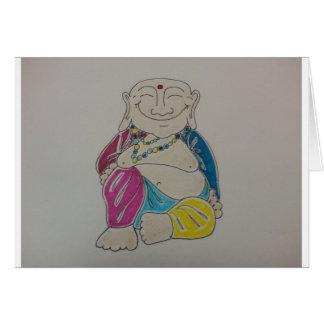 Buddha Blank Card
