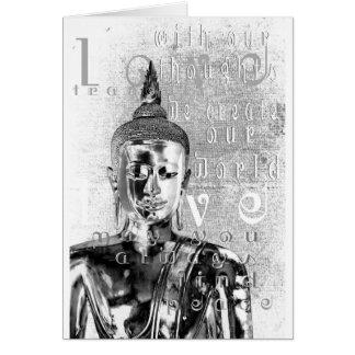 Buddha Blessing Card