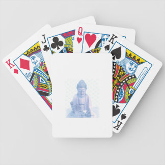 buddha blue and tiny white mouse bicycle playing cards