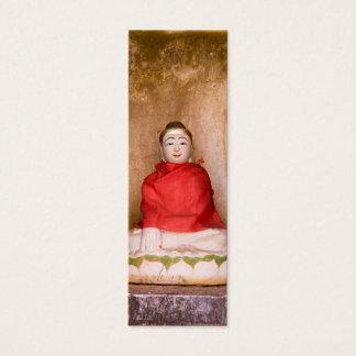 Buddha Bookmark Mini Business Card