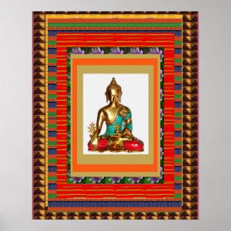 Buddha Buddhism Gautama India :  cadeau pour tous Poster