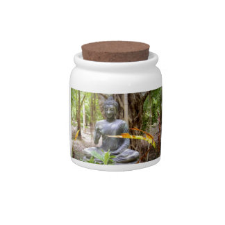 BUDDHA   Buddhism  Peace Candy Jar