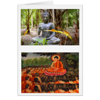 BUDDHA   Buddhism  Peace Greeting Card