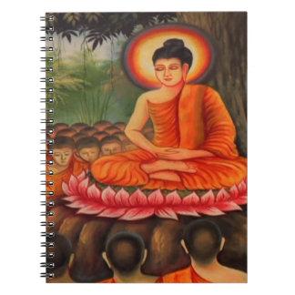 BUDDHA   Buddhism  Peace Notebook