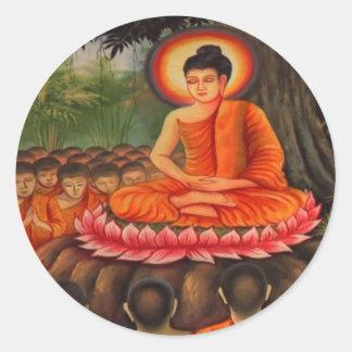 BUDDHA   Buddhism  Peace Stickers
