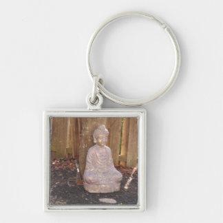 Buddha Buddhism Religion Spiritual Idol Statue fun Keychain