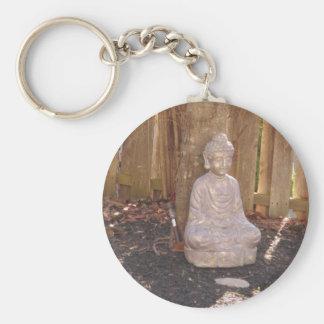 Buddha Buddhism Religion Spiritual Idol Statue fun Keychains