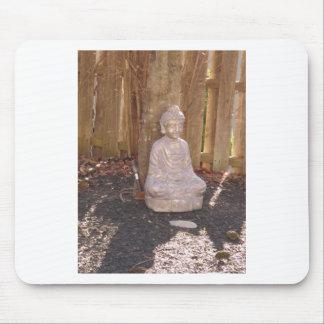 Buddha Buddhism Religion Spiritual Idol Statue fun Mouse Pad
