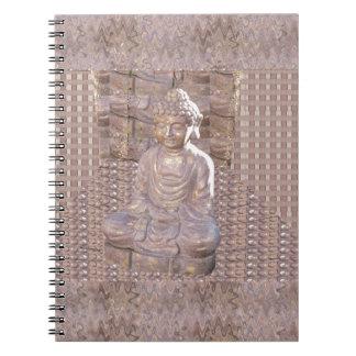 Buddha Buddhism Religion Spiritual Meditation gift Notebook