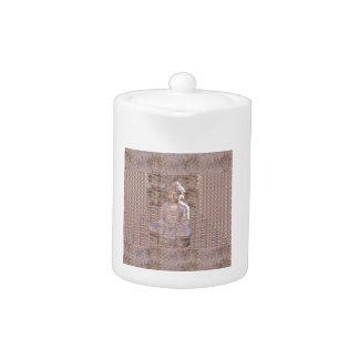 Buddha Buddhism Religion Spiritual Meditation gift Teapot