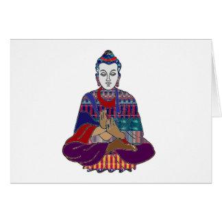 BUDDHA Buddhism Teacher Master NVN659 spiritual Stationery Note Card