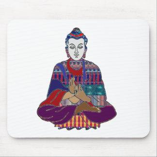 BUDDHA Buddhism Teacher Master NVN659 spiritual Mousepad