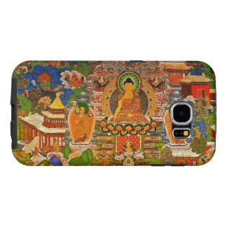 Buddha Buddhist Buddhism Blessing Boho Bohemian Samsung Galaxy S6 Case