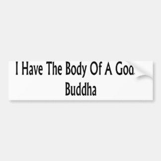 Buddha Bumper Stickers