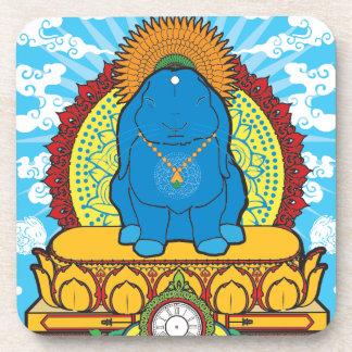 BUDDHA BUN DRINK COASTERS