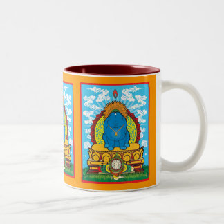 BUDDHA BUN Two-Tone COFFEE MUG