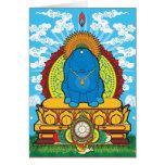 BUDDHA BUNNY CARD