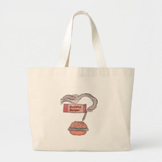 Buddha Burger Large Tote Bag