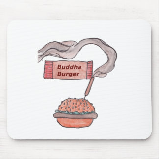 Buddha Burger Mousepad