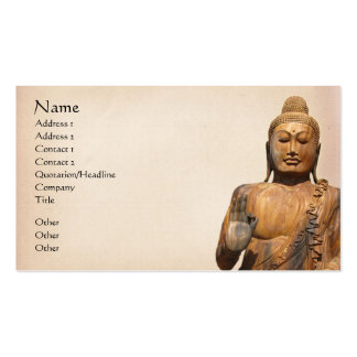 Buddha Double-Sided Standard Business Cards (Pack Of 100)
