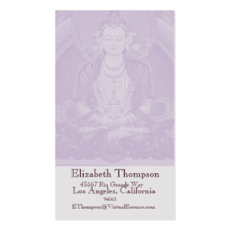 Buddha Business or Name Card Double-Sided Standard Business Cards (Pack Of 100)