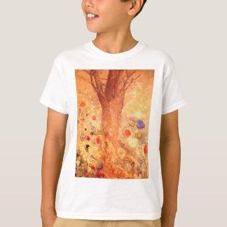 Buddha by Symbolist Painter Odilon Redon T-Shirt