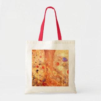 Buddha by Symbolist Painter Odilon Redon Tote Bag