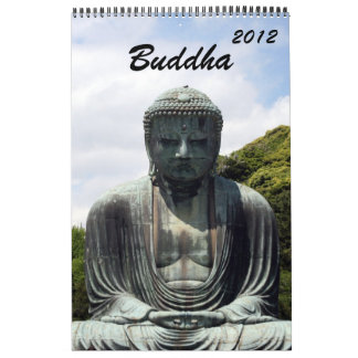 buddha calendar 2012
