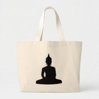 buddha canvas bag