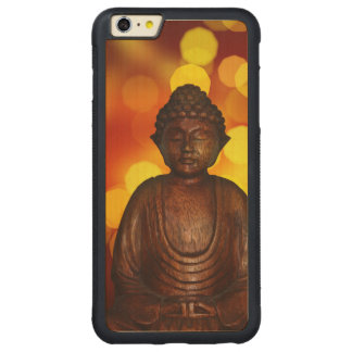 Buddha Carved Maple iPhone 6 Plus Bumper Case