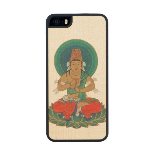 Buddha Carved® Maple iPhone 5 Slim Case